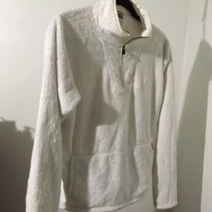 North Face Other - North Face white fleece pullover. Very clean